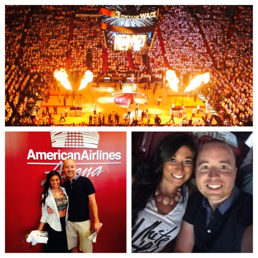 Miami Heat Game at American Airlines Arena