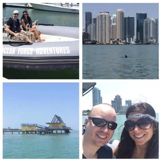 Boat Ride in Miami Bay!