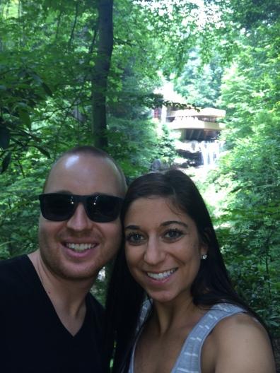 Selfie at Falling Water