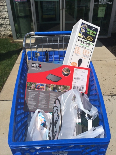 Some goodies we bought from Camping World
