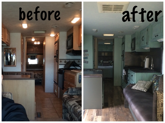 Luxury Vintage Motorhome Before And Afters   RV Renovation  Pinterest