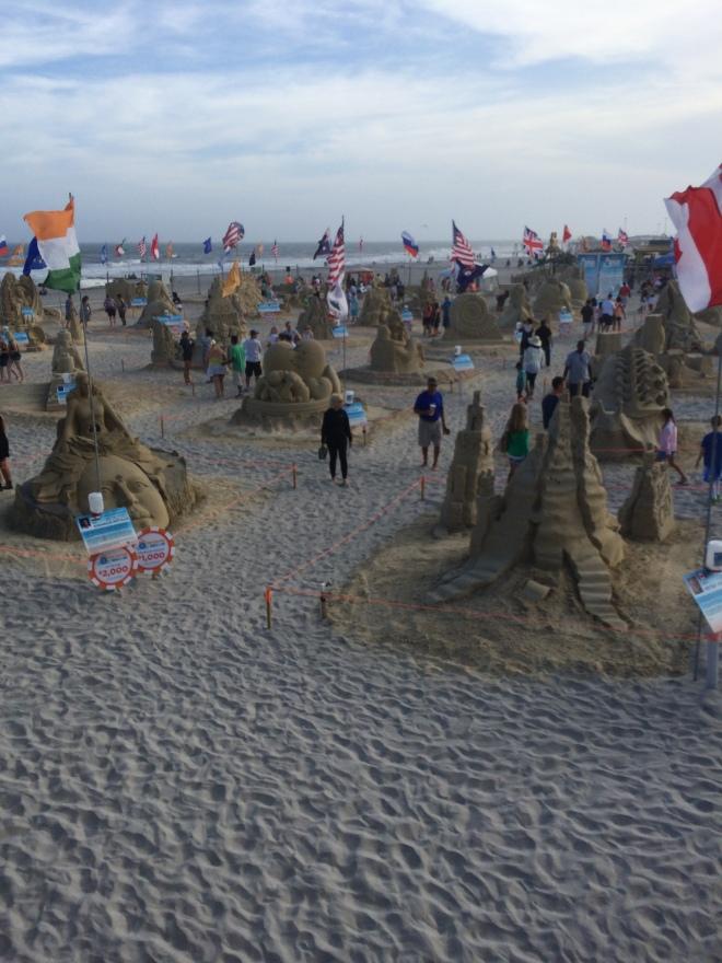 Sand Sculptures!