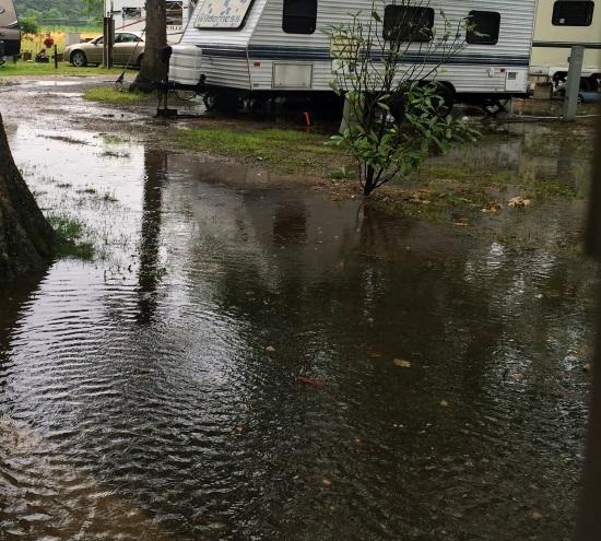 mild flood...