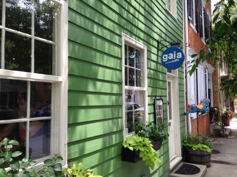 Gaia Fresh Food Cafe! Yum!