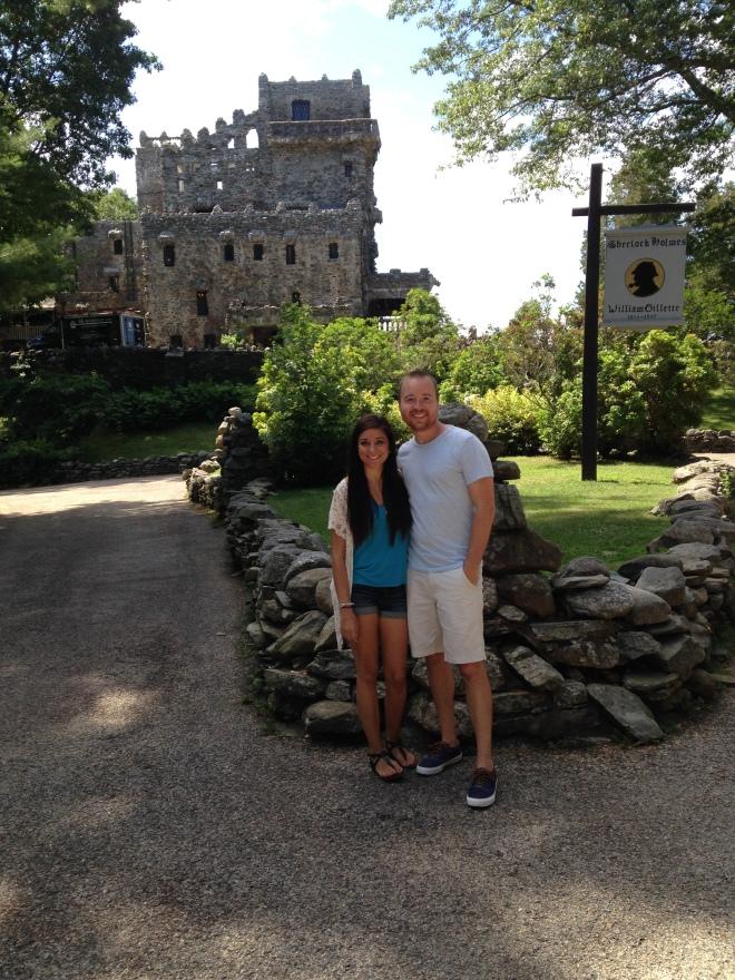 Outside the Gillette Castle